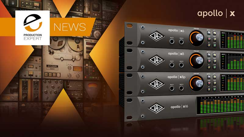 Universal Audio Announce The Next Phase In Apollo Development. Introducing The New Apollo X Series Of Rack Mounted Interfaces