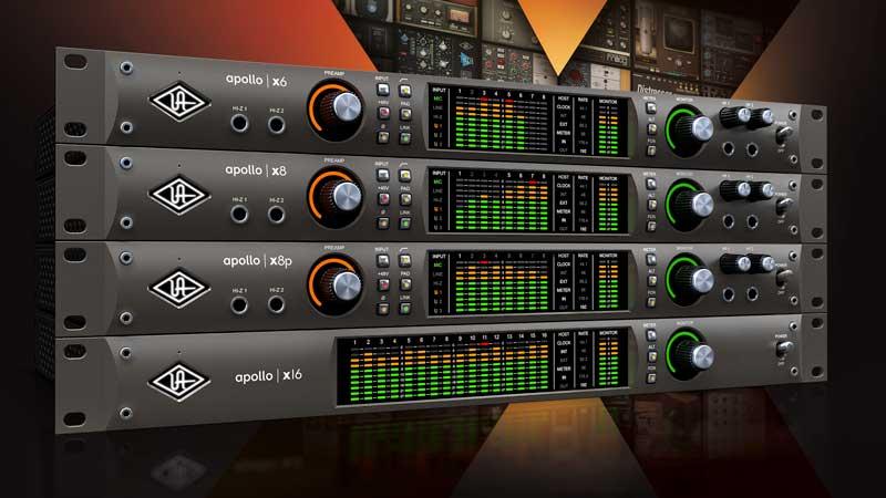 New UA Apollo X Series Range of Audio Interfaces