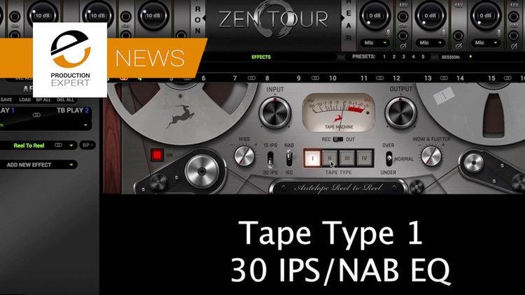 Tape Emulation Plug-In Added To Antelope Audios Range Of FPGA