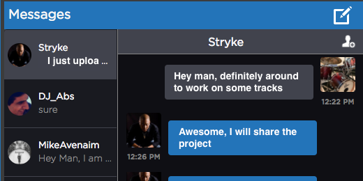 Avid Link - Messages