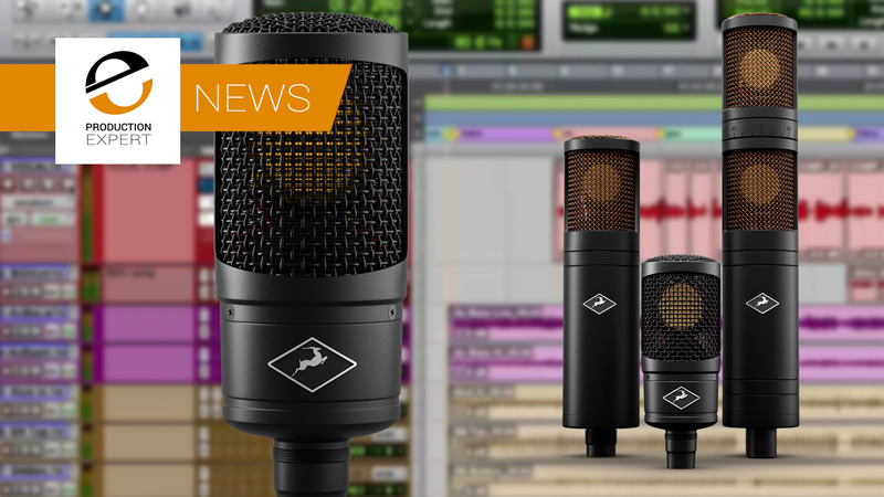 Antelope Audio Announce Two New Microphones To Create The Edge Microphone Family