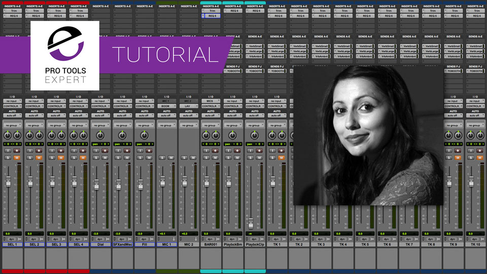 ADR Basics - How To Prepare For A Session And Set Up An ADR Template In Pro Tools