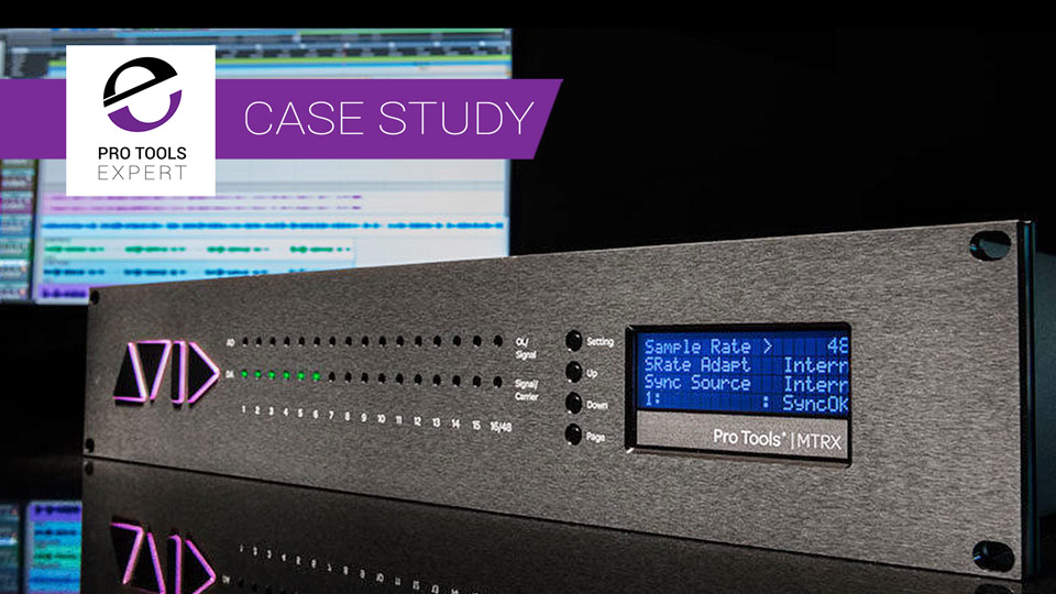 Want To Future Proof Your Pro Tools HD System? Upgrade Your Interface To An Avid MTRX And Have Access To All The Latest Protocols