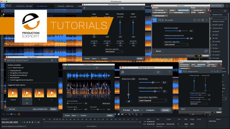 iZotope Show How To Use The New Dialogue Contour And Dialogue