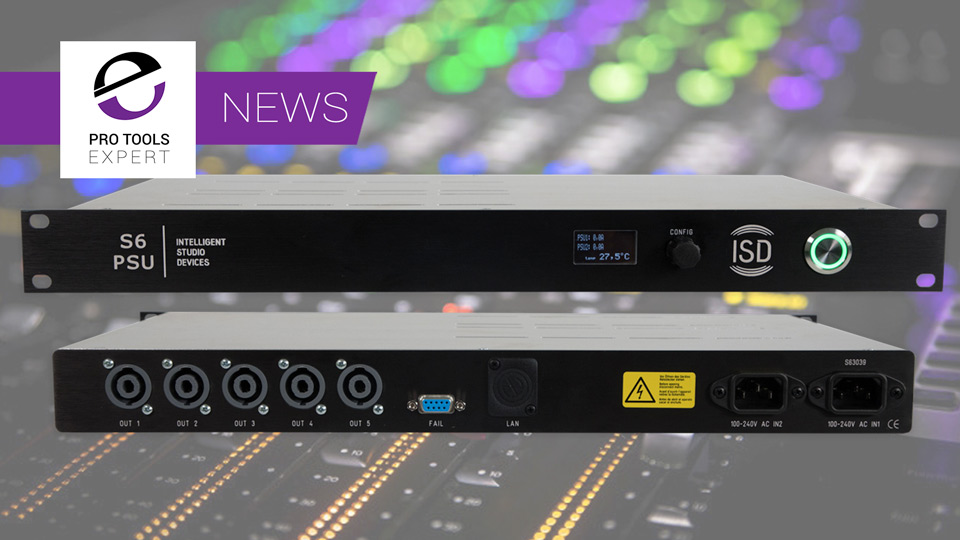 Sound Bite - Avid Pro Tools S6 M10/M40 Control Surface Power Supply From Intelligent Studio Devices