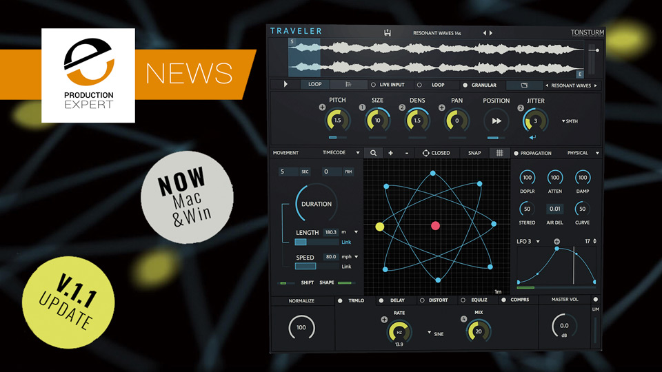 Tonsturm Traveller Doppler Plug-in Now Windows And Mac Compatible With New Update