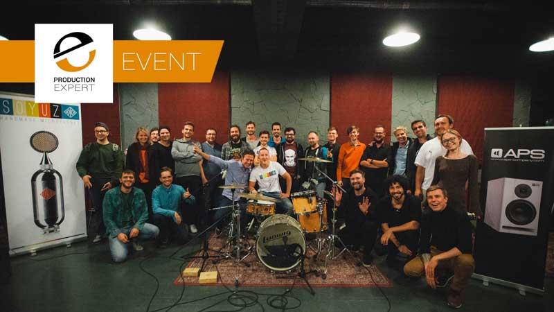 Live Band Recording & Mixing Seminar Presented By James Ivey At Studiya Irorya Matvienko Moscow - Group Photograph