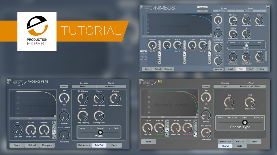 Expert Reverb Tips & Tricks From The Reverb Maestro Michael Carnes At Exponential Audio