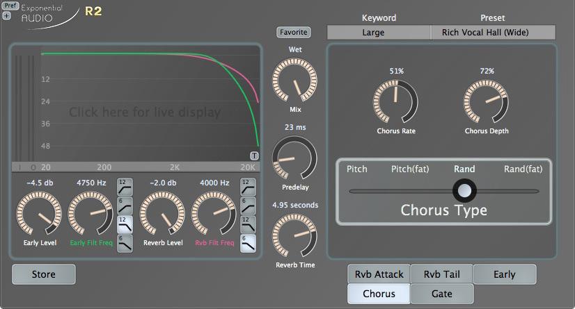 Exponential Audio Fat Chorus Effect