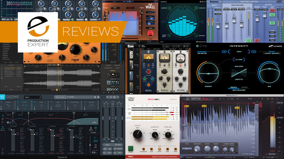 Roundup - Expert Reviews Of Top Mastering Tools You Can Buy Today
