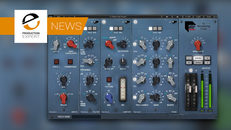 Waves Release New Abbey Road TG Mastering Chain Plug-in.jpg