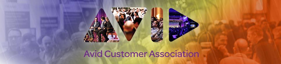 Avid Customer Association Banner