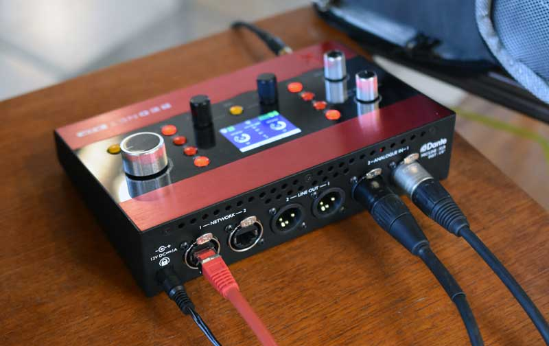 RedNet X2P Twin Channel Mic Pre And Stereo Audio O/P.