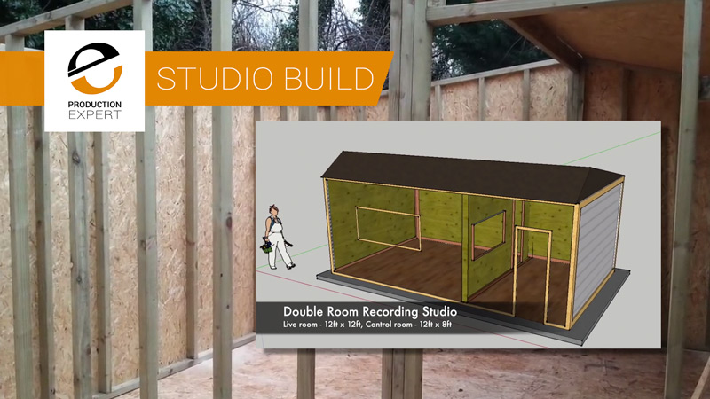 Watch An Entire Diy Soundproof Home Recording Studio Build
