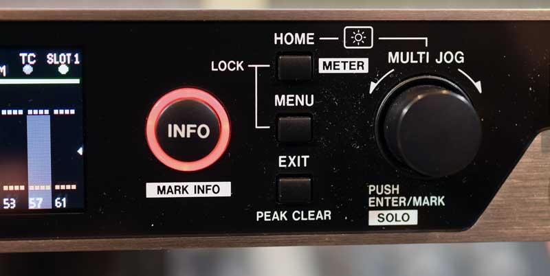 Main controls including the Multi-Job Wheel.