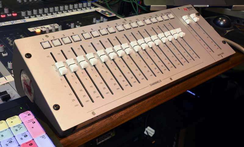 ASM Neve 8804 Fader Pack Which Controls The Level, Solo and Mutes of the 8816 Summing Mixer.