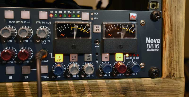 AMS Neve 8816 With Stereo Width Engaged.