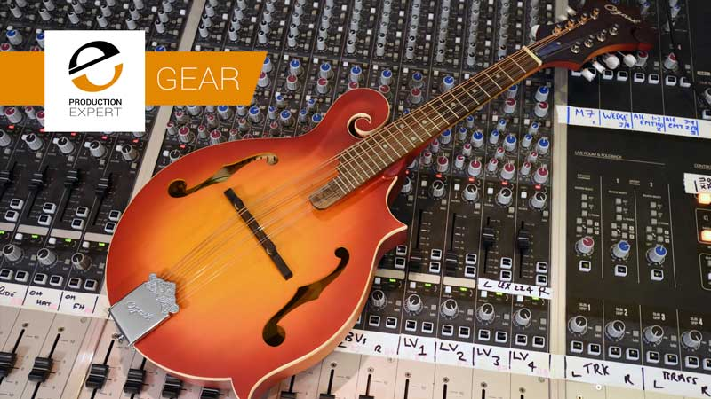 The One Piece Of Studio Equipment Bought New This Year That Had The Greatest Positive Affect On My Creative Workflow: Ozark Mandolin.