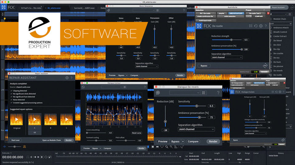 If I Could Keep Just One Piece Of Software Which One Would I Keep? iZotope RX 7 Advanced