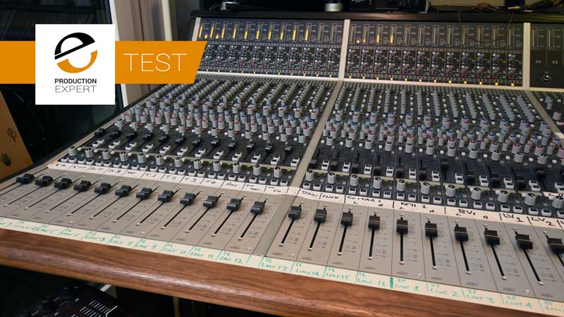 The Audio Summing Debate - Can You Tell The Difference? Second Test Audient ASP8024 Console Stereo Mix