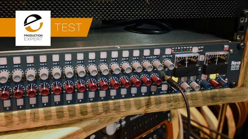 The Audio Summing Debate - Can You Tell The Difference? Third Test Neve 8816 With Width