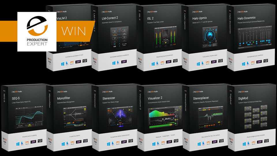 Work In Audio Post Production? Win The Nugen Audio Post Bundle Worth $1,499