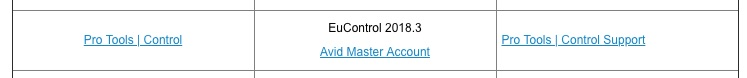 Pro Tools System Requirements Control Surfaces Eucon Requirements