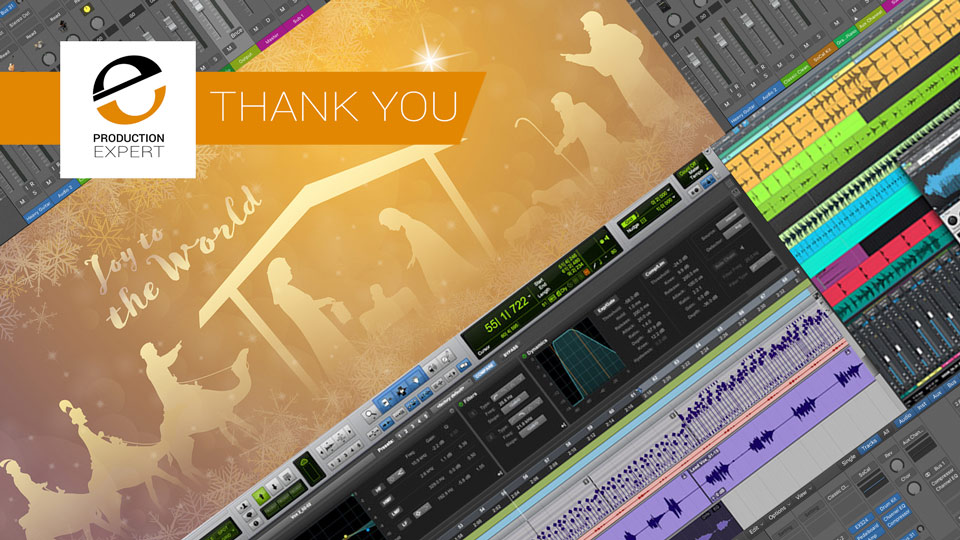 Merry Christmas And A Happy New Year From Everyone At Production Expert. We Are Offering A Free Gift To Say Thank You