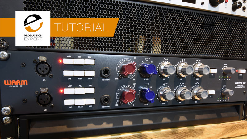 Using The Warm Audio WA273-EQ To Create A Stereo Image From A Mono Signal - We Show You How