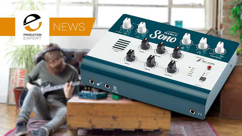 Audient Announce New Guitar Centric Audio Interface - Introducing The All New Audient Sono