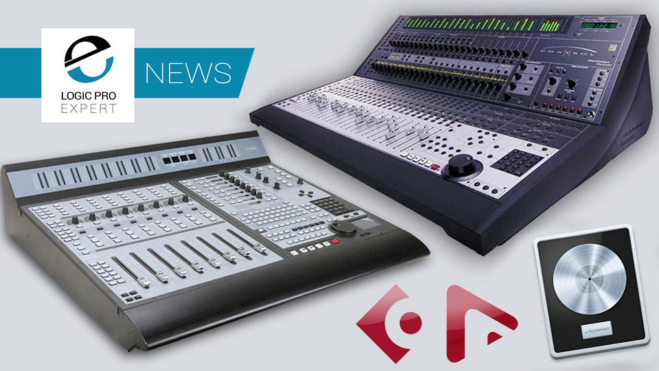 Neyrinck Announce Support For Legacy Control Surfaces Like The Control 24 And Pro Control Coming To Logic Pro X