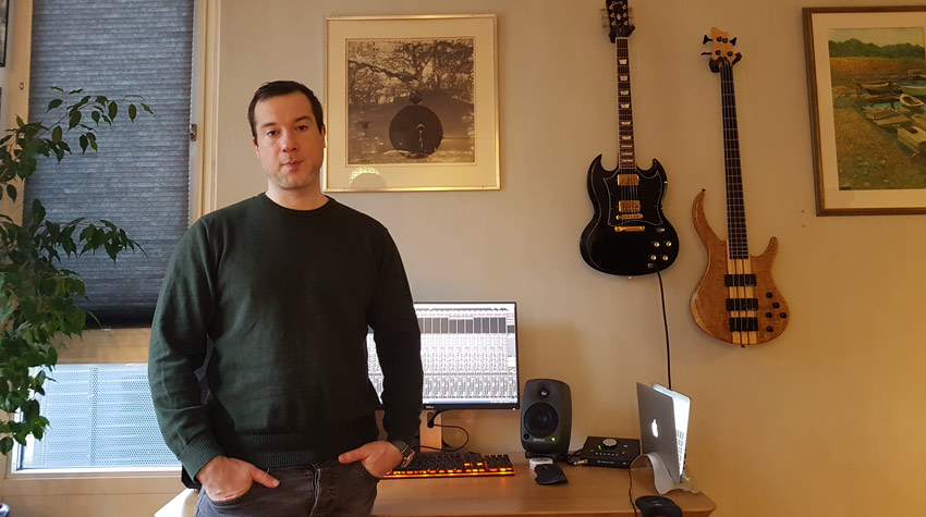 Andreas Casado - Winner of the Exponential Audio Pro Stereo Bundles With Excalibur Worth $569