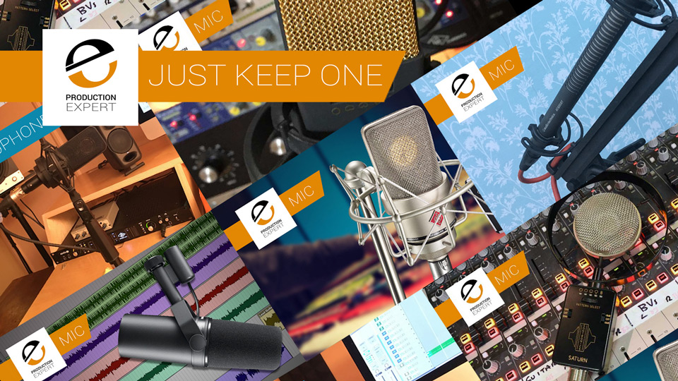 Roundup - Just Keep One Microphone. Find Out Which Microphone Each Team Member Choose And Why