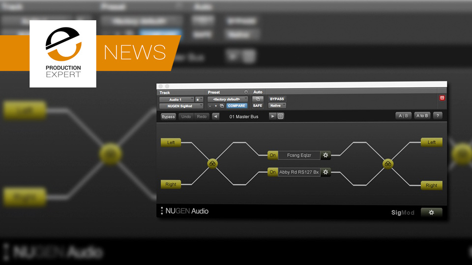 nugen audio announce update to sigmod with hosting for vst3 plug ins within their clever. Black Bedroom Furniture Sets. Home Design Ideas