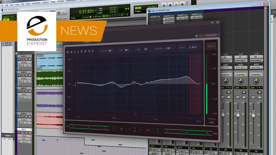 Intelligent Automatic EQ Plug-in Gullfoss From Soundtheory Now Available For Windows