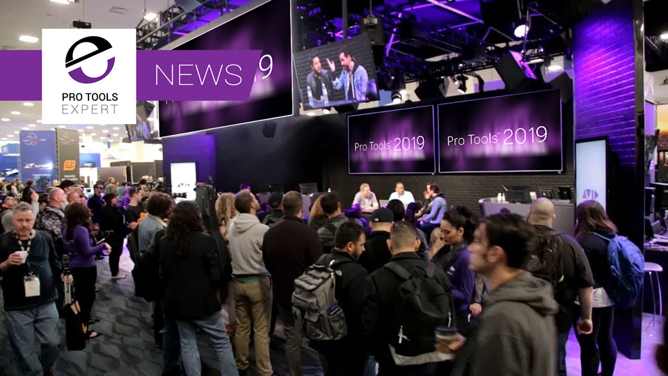 Avid Preview The Next Version Of Pro Tools At NAMM 2019 With Up To 1152 Voices, Double The MIDI Tracks And More