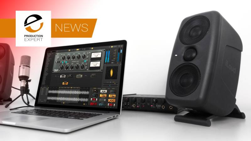 IK Multimedia Reveals New iLoud MTM Reference Studio Monitors With Built-in ARC Speaker Calibration Technology.jpg