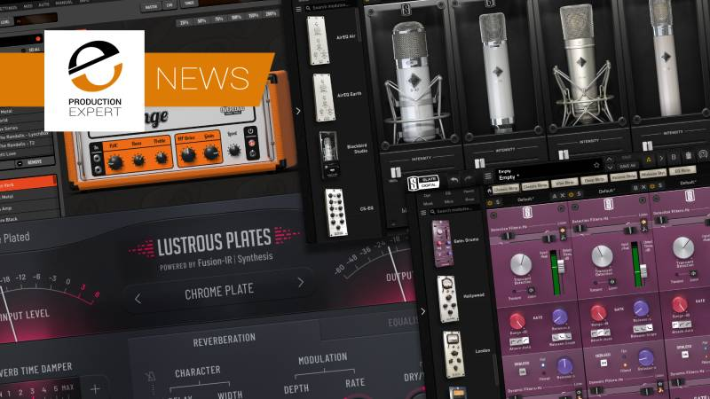 Slate Digital Announce 4 New Products At NAMM 2019 Ranging Plate Reverbs, Gates For Drum Mixing, Guitar Amp & Mic Emulations - Plenty To Keep You Busy In Your Next Mix.jpg