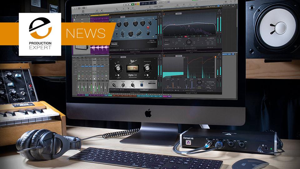 Apogee Preview Apogee FX Rack DualPath Monitoring, Pultec MEQ-5 Plugin And Symphony I/O Mk II Dante Option Card
