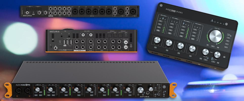 Arturia Studio and 8 Pre Interfaces