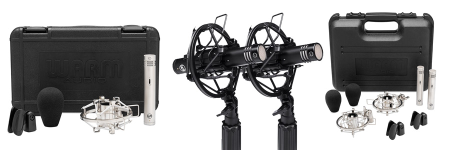 Warm Audio WA-84 Small Diaphragm Condenser Microphones