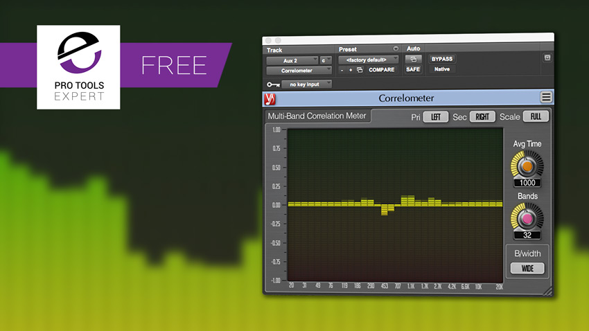 Friday Free Plug-in - Correlometer From Voxengo | Pro Tools