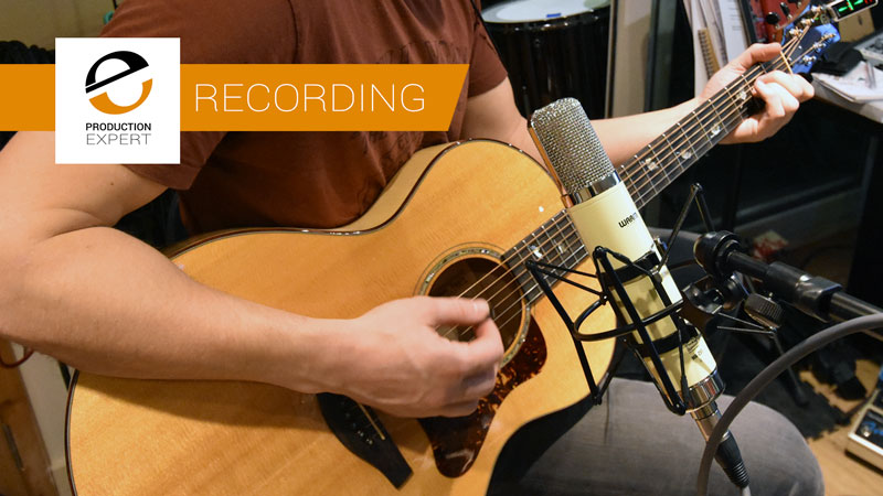 Recording Acoustic Guitars Using The New Warm Audio WA-251 Valve/Tube Condenser Microphone