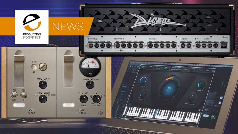 Universal Audio Release New UAD Software Version 9.8 With 3 New Plug-Ins - Diezel Herbert Amplifier, V76 Preamplifier & Antares Auto-Tune Realtime Advanced