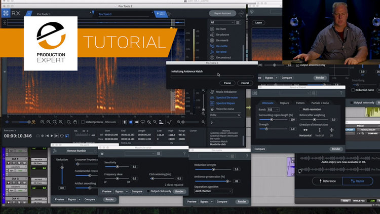How To Clean Up Production Sound Dialog Using iZotope RX 7 With