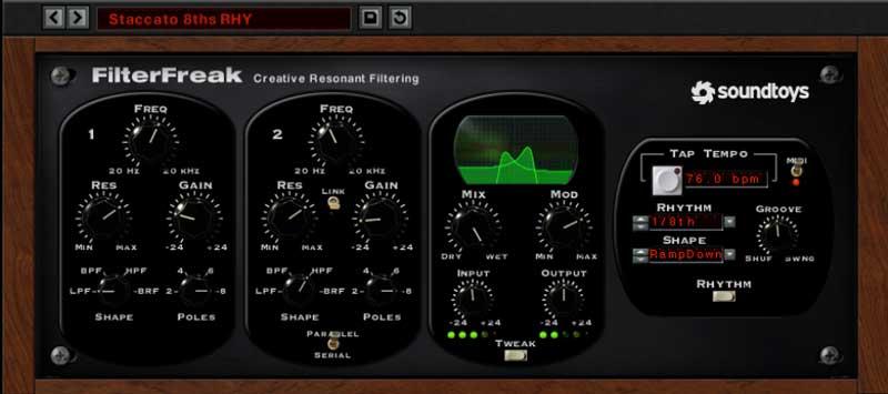 FilterFreak from Soundtoys 5