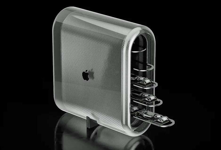 Apple Mac Pro 2019 concept design from Ben Monnoyeur