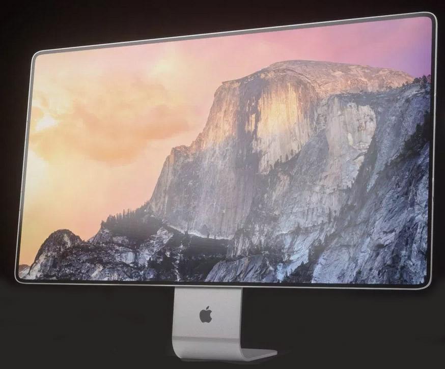 Mac Pro 6K screen concept design