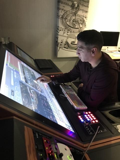 Simon Nakra in his studio