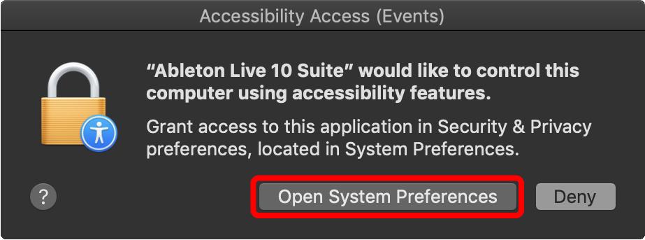 mac OS Mojave Keystroke Passthrough Permission